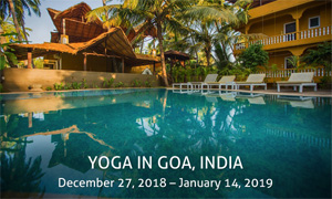Yoga in Goa, India