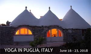 Yoga in Puglia, Italy