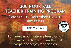 200 Hour Fall Teacher Training Program