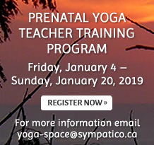 Prenatal Yoga Teacher Training Program