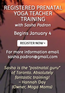 Registered Prenatal Yoga Teacher Training - Register now