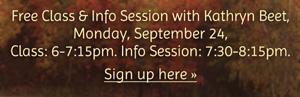 200 Hour Fall Teacher Training Program Info Session