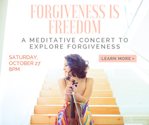 Forgiveness is Freedom - Oct 27, Learn More