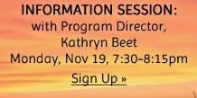 200 Hour Winter/Spring Teacher Training Program Info Session
