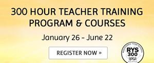 300 hour teacher training program & courses - register now