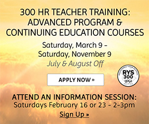 300 Hr Teacher Training: Advanced Program & Continuing Education Courses Apply Now