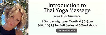 Introduction to Thai Yoga Massage