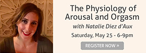 The Physiology of Arousal and Orgasm - register now