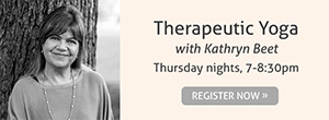 Therapeutic Yoga with Kathryn Beet