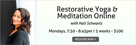 Restorative Yoga & Meditation Online