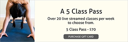A 5 Class Pass Gift Card