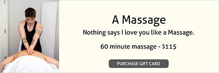 A Massage Gift Card