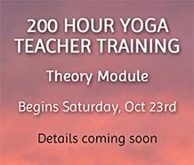 200 Hour Yoga Teacher Training Sat Oct 23