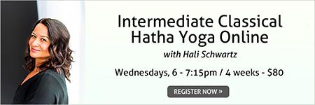 Intermediate Classical Hatha Yoga Online