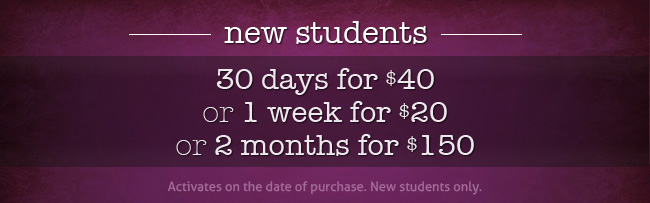 New Students deals