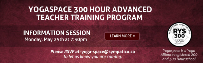 Yogaspace Advanced Teacher Training