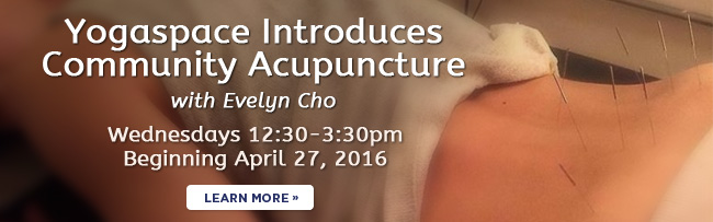 Community acupuncture