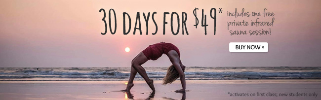 Yogaspace new student deal