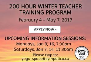 200 Hour Winter Teacher Training Program