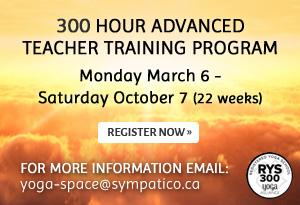 300 hour advanced teacher training program