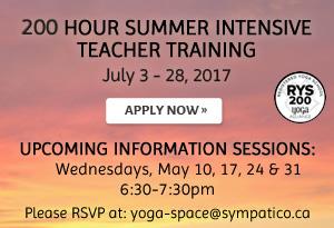 200 Hour Summer Intensive Teacher Training
