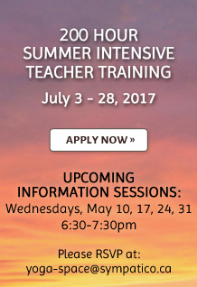 200 Hour Summer Intensive Teacher Training