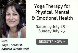 Yoga Therapy for Physical, Mental and Emotional Health