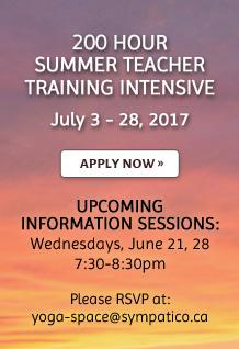 200 Hour Summer Teacher Training