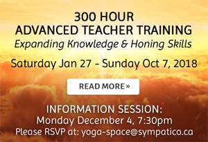 300 Hour Advanced Teacher Training