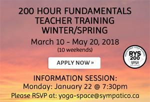200 Hour Fundamentals Teacher Training Winter/Spring