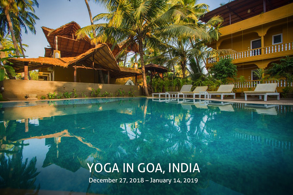 Yoga in Goa, India