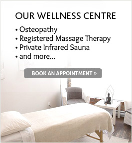 Our Wellness Centre - Book an appointment